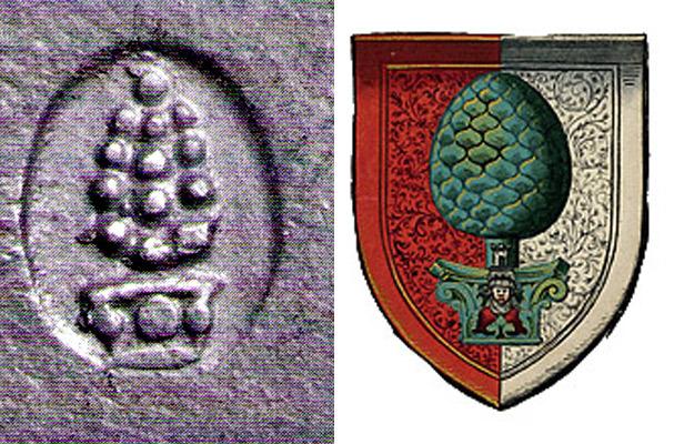 Augsburger Silbermarken: Beschauzeichen und Meistermarken - Silbersuite